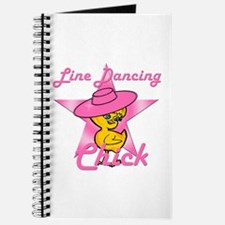 Line Dancing Chick #8 Journal