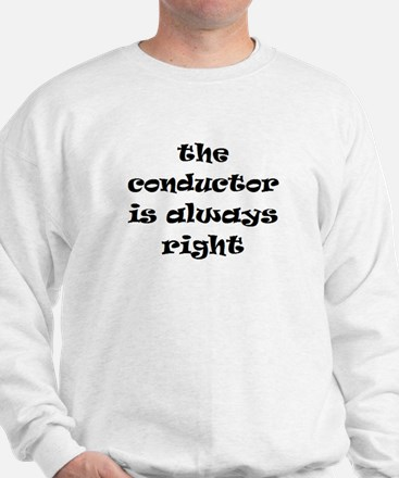 conductor always right Jumper