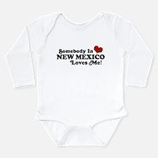 Unique New mexico Long Sleeve Infant Bodysuit