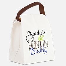 Daddys lil huntin Buddy Canvas Lunch Bag