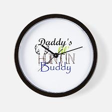 Daddys lil huntin Buddy Wall Clock
