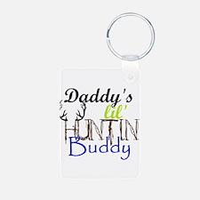 Daddys lil huntin Buddy Keychains