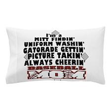 Baseball Mom Pillow Case