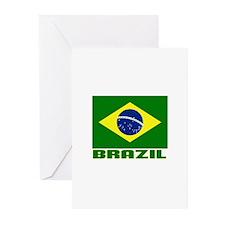 Brazil Greeting Cards (Pk of 10)