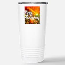 Thanksgiving Stainless Steel Travel Mug