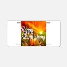 Thanksgiving Aluminum License Plate