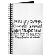 life is like a camera Journal