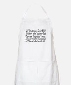 life is like a camera Apron