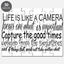life is like a camera Puzzle