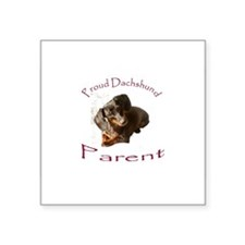 "Cute Holiday pets Square Sticker 3"" x 3"""