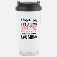 like a sis Stainless Steel Travel Mug
