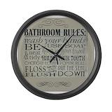 Bathroom Giant Clocks