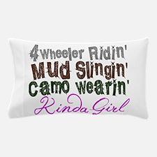 camo wearin, Pillow Case