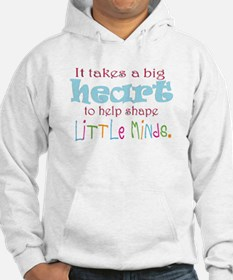 big heart: teacher, Hoodie