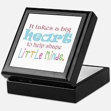 big heart: teacher, Keepsake Box