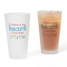 big heart: teacher, Drinking Glass