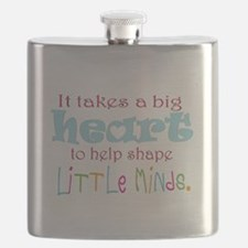 big heart: teacher, Flask