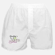 Daddys lil huntin princess Boxer Shorts