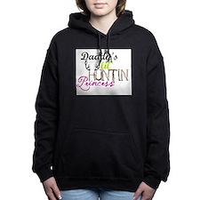 Daddys lil huntin prince Women's Hooded Sweatshirt