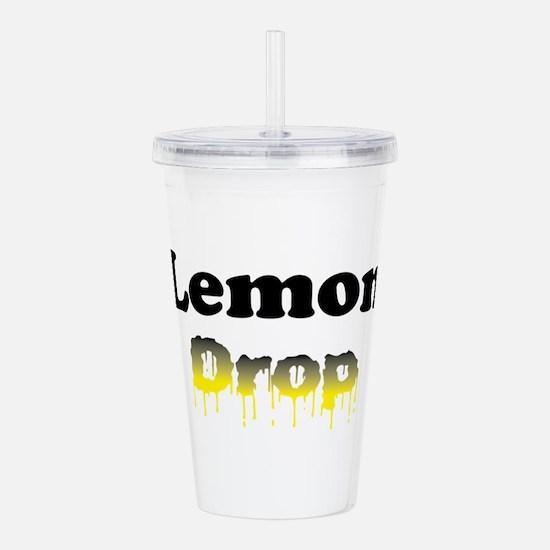 Lemon Drop Acrylic Double-wall Tumbler