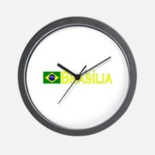 Brasilia Wall Clock