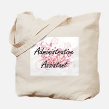 Administrative Assistant Artistic Job Des Tote Bag