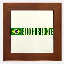 Belo Horizonte, Brazil Framed Tile