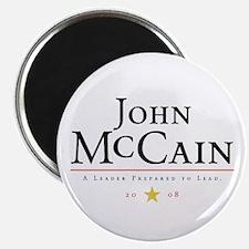 "John McCain Ready to Lead 2.25"" Magnet (100 pack)"