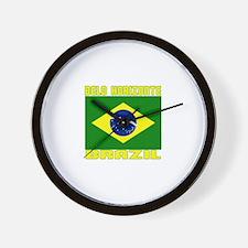 Belo Horizonte, Brazil Wall Clock