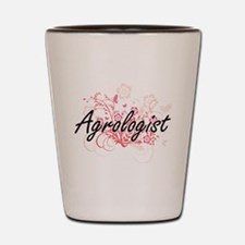 Agrologist Artistic Job Design with Flo Shot Glass