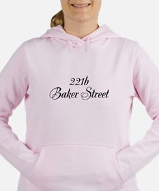 Cute Baker street Women's Hooded Sweatshirt