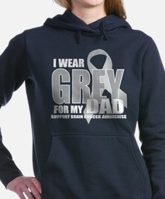 Unique I wear grey Women's Hooded Sweatshirt