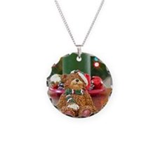 Funny Christmas bear Necklace