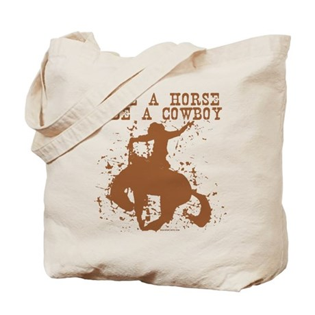 Save a horse, ride a cowboy. Tote Bag
