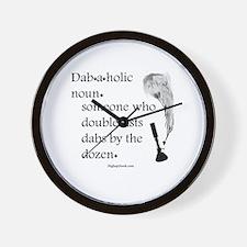 Cool Nouns Wall Clock