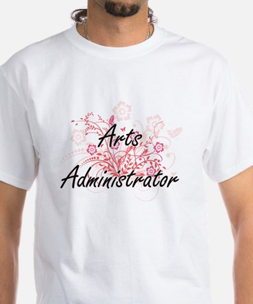 Arts Administrator Artistic Job Design wit T-Shirt