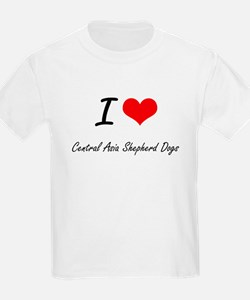 I love Central Asia Shepherd Dogs T-Shirt