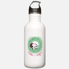 Peanuts Snoopy Merry a Water Bottle