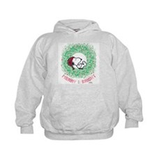 Peanuts Snoopy Merry and Bright Kids Hoodie