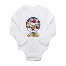 Charlie Brown - Snow G Long Sleeve Infant Bodysuit