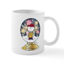 Charlie Brown - Snow Globe Mug