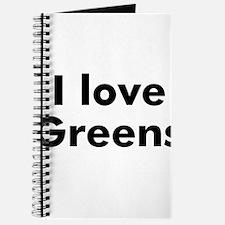 I love Greens Journal