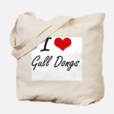 Unique I heart ding dongs Tote Bag