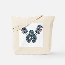 Squash Blossom Necklace Tote Bag