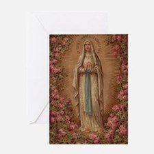 Funny Virgin mary Greeting Card