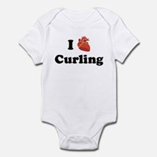 I (Heart) Curling Infant Bodysuit