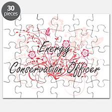 Energy Conservation Officer Artistic Job De Puzzle