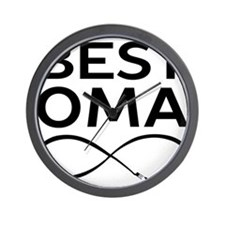 BEST OMA EVER Wall Clock