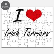 I love Irish Terriers Puzzle