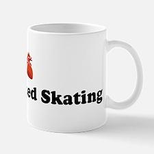I (Heart) Synchronized Skatin Mug